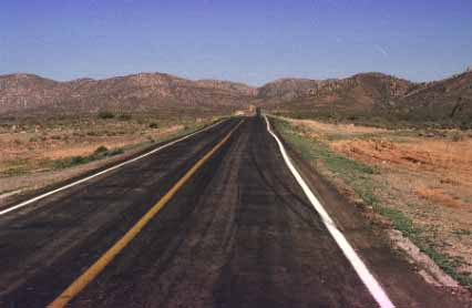 The Road to Guerrero Negro, BC, Mexico