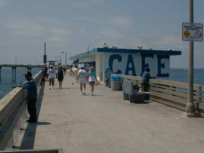 Ocean Beach Pier Cafe Sandiego Ca
